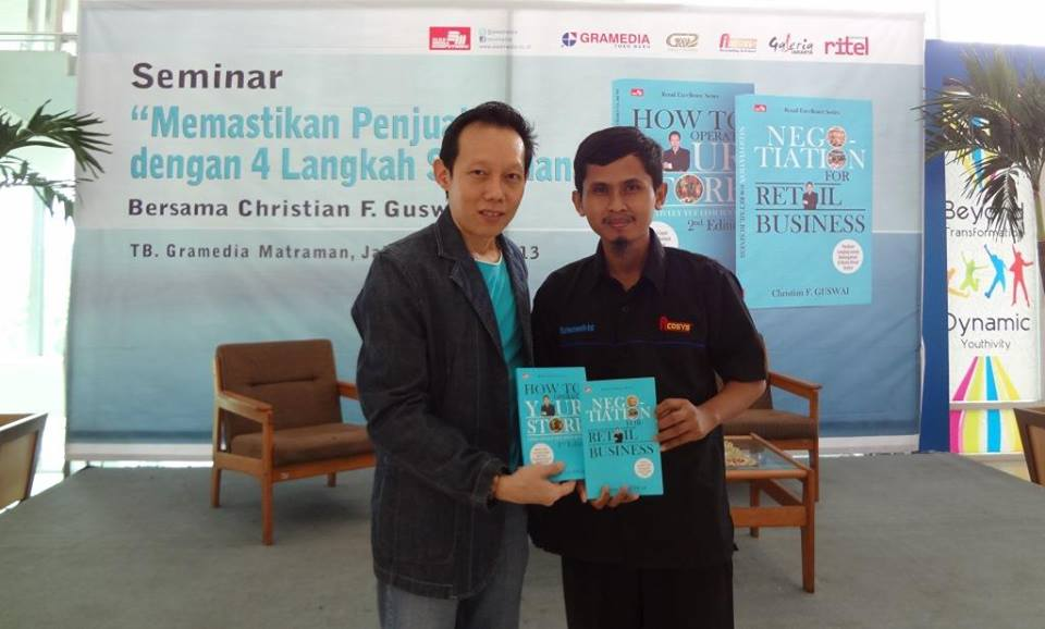 Christian F Gusway dan Andi Irawan